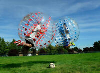 BUBBLE SOCCER SEASON IS BACK!