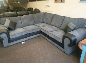 Tango Jumbo Cord Corner Sofa