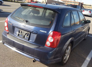 2003 Mazda Protege Hatchback **LOW KMS***