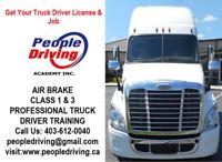 Class 1 & Class 3 Truck Driver School in Calgary
