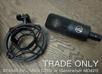 Audio Technica AT4040 (TRADE) for AKG C214 Or Sennheiser MD421