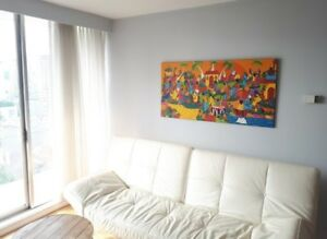 September 1st 1 bedroom furnished ocean view condo English Bat