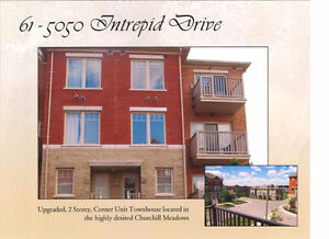 5050 Intrepid Dr - 2 Bed 2 Bath Corner Unit Townhouse