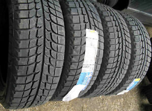 225/45R17 MICHELIN X-ICE SET OF 4 WINTER TIRES 85% tread left