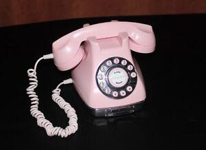 Landline Pink Phone Metro Pink Vtg Excellent Working Condition