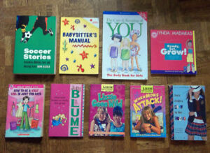 Babysitter's Manual & Assorted Pre-Teen Books