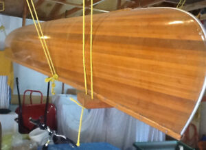 Canoe cedar strip in great condition