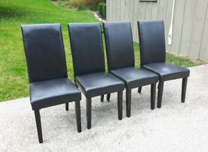 Four Parson Chairs *Delivery Available*