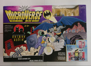 The Adventures of Batman and Robin MicroVerse Gotham City Set