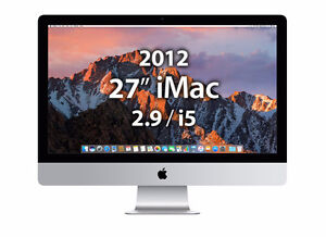 "27"" iMac Quad Core ~ 2.9GHz/16GB/1TB ~ Apple tested"