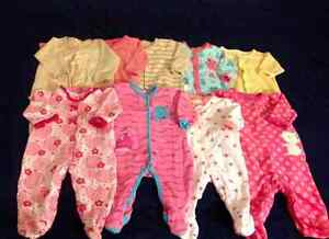 0/3months and 3monthsb baby girl clothes