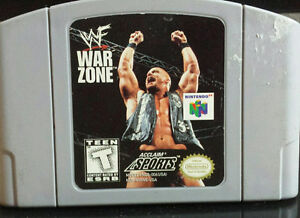 Nintendo 64 WWF/WWE War Zone