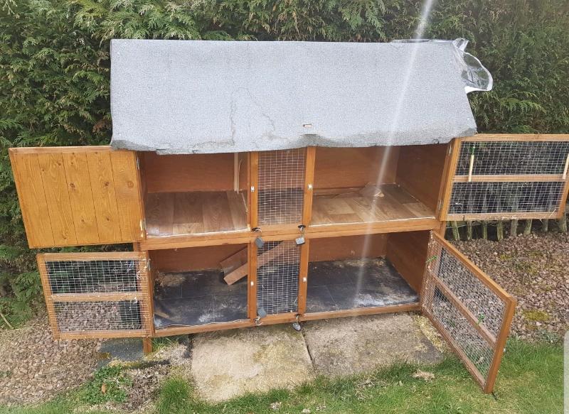 Guinea Pig Rabbit Hutch In Kennoway Fife Gumtree