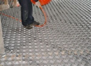 HOTROCK PANELS - IN Floor Heating - R-10 insulated PEX board
