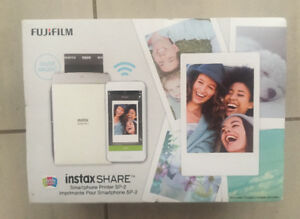 Fujifilm instax share smartphone printer sp-2. Sealed