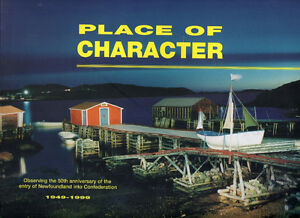 Place of Character: 50th Anniv. of NEWFOUNDLAND Entry to Canada