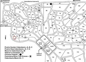 1 Burial Plot for Sale - Riverside Memorial Park (Regina)
