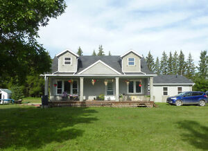 OPEN HOUSE - Modern Home with Small Farm Acreage