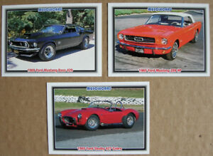 Mustang various Muscle cards & Promo cards lot of 26 $10.00