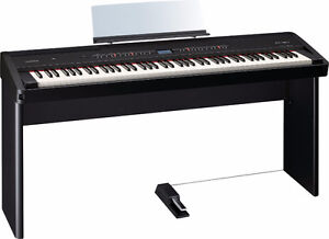 Roland Electronic Piano FP-80 88 key Black + Stand + Pedal