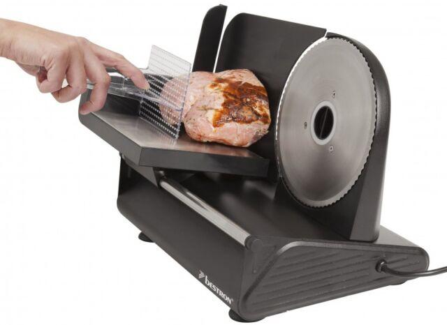 Metall-Allesschneider Bestron AFS9003 Brotschneidemaschine Wellenschliff-Messer