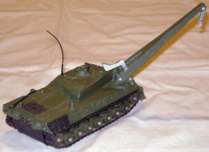 Original, vintage Dinky Leopard armoured recovery vehicle