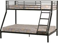 Triple Sleeper Bunk Bed Brand New Black Order today Deliver Today Call Today