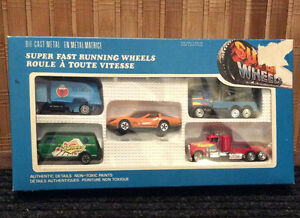 New, Boxed Set of Vintage Metal Toy Cars - $24