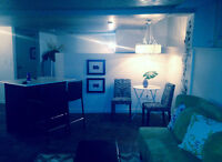 Available now   All inclusive  1 bedroom apt on Main Street