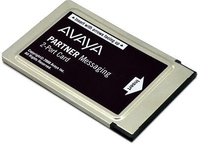 Avaya Partner Acs Messaging 2-port Card 700262454 Refurbished