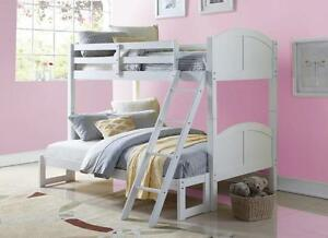 LORD SELKIRK FURNITURE TOMBOY TWIN/ DOUBLE BUNK BED  - ESPRESSO OR WHITE
