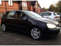 2005 VW GOLF 2.0 DIESEL LOW MILEAGE HPI CLEAR NOT TDI JETTA PASSAT C220 CIVIC JAZZ FABIA SDI TDI S