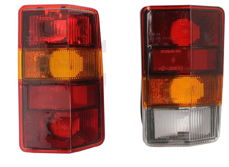 FIAT Ducato CITROEN C25 PEUGEOT J5 Rear Tail Light PAIR Left + Right 1981 - 1994