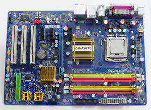 Intel E2180 2GHz CPU and Gigabyte LGA775 motherboard AS-IS