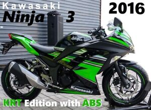 Special Edition 2016 Ninja  300 KRT with ABS ....... PRICE MATCH