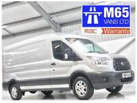 FORD TRANSIT TREND 2.2TDCi 125PS RWD T350 L3H2 SILVER LWB LONG WHEELBASE