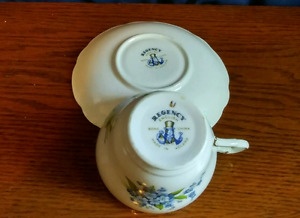 Vintage tea cup and saucer collection