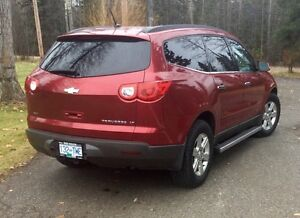 2012 Chevrolet Traverse LT AWD Prince George British Columbia image 2