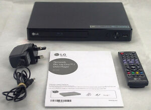 LG BP350 Blu Ray DVD Player,  Built in Wi Fi  - TAXES INCLUSES!!