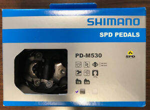 Shimano SPD Pedals - PD-M530 (**Brand New**)