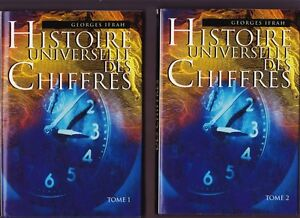 HISTOIRE UNIVERSELLE DES CHIFFRES 2 TOMES GEORGES IFRAH
