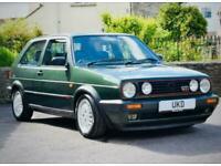 VW VOLKSWAGEN GOLF GTI MK2 16V OAK GREEN 3DR 1991 BIG BUMPER