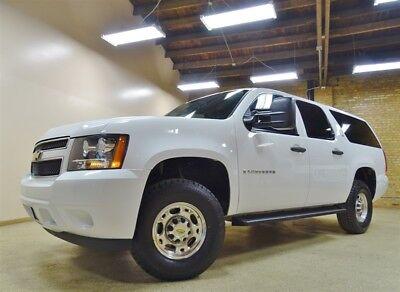 2008 Chevy Suburban 2500 4WD, 51k Miles, White, TX Truck