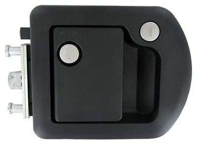 060-1650 Trimark RV Entry Door Lock 60-650 Black Motorhome Lock NEW