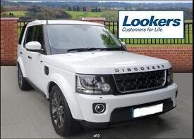 Land Rover Discovery SDV6 GRAPHITE (white) 2016-06-30
