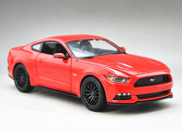 Maisto 118 2015 Ford Mustang GT Diecast Metal Model Car Red New 31197
