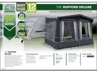 Gateway Leisure Rufford Deluxe Porch Awning – Charcoal