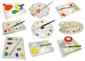 Various-Artist-Palettes-for-Oil-Watercolour-Acrylic-Painting-Desk-Easel-Flat-m-b