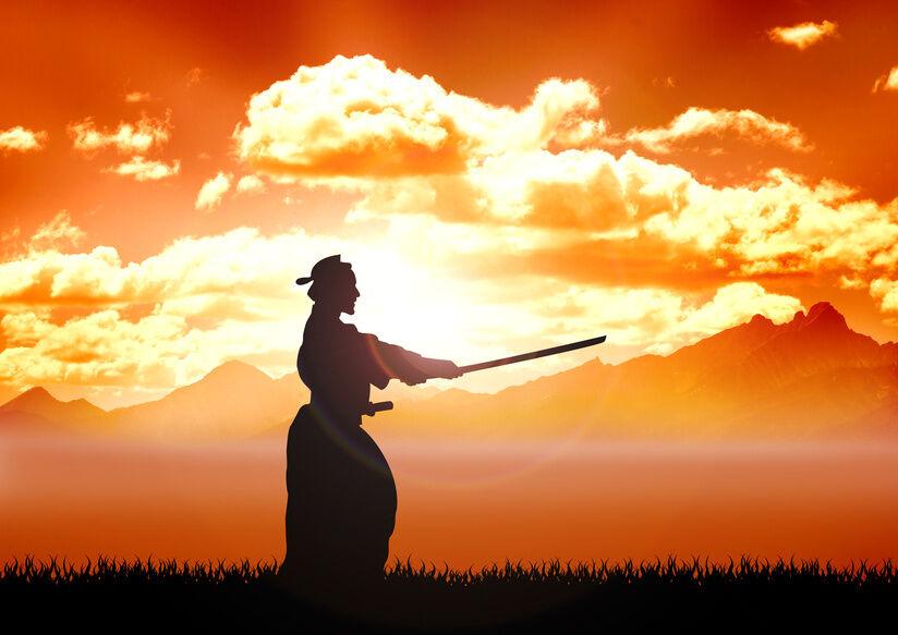 Die Charakteristika des Samurai-Schwerts