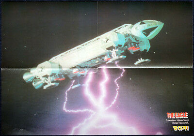 SPACE 1999 POSTER . THE EAGLE . A2 SIZE . 2D